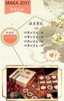 中国风中秋节/月饼/促销