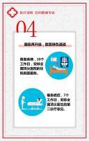 保险类产品红色通用模板