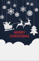 圣诞Party邀请函/贺卡