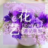 文艺清新鲜花花艺生活类公众号封面次条小图