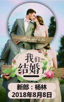 邀请函 结婚 浪漫婚礼 简单婚礼 粉色婚礼