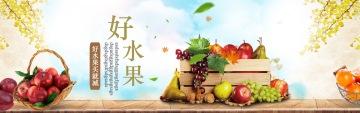 健康自然水果电商banner
