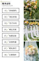白色浪漫温馨高端定制婚礼策划公司H5