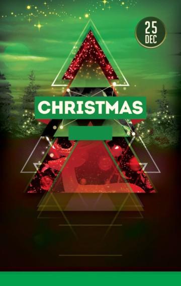 圣诞淘宝店促销单页
