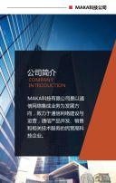 企业简介 宣传册  企业画册 高端企业 宣传册 高逼格 高端大气 科技金融公司 公司简介