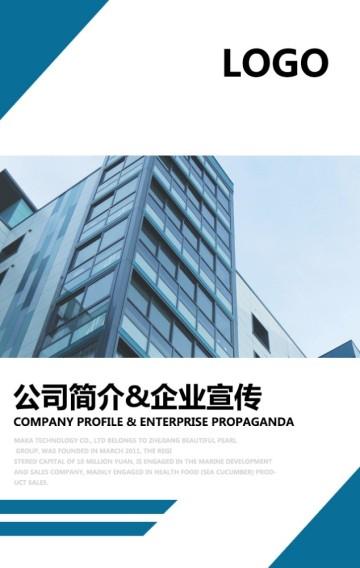 高端企业模板 商务科技风