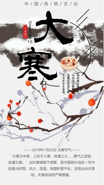 大寒/24节气/传统文化/农历