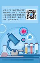 新型冠状病毒肺炎预防指南H5设计