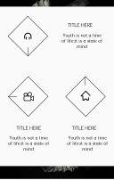 企业介绍、产品宣传杂志风模板