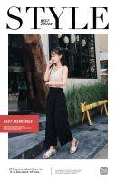 时尚个性欧美杂志风相册H5