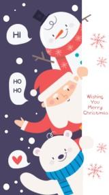 祝你圣诞节快乐视频贺卡