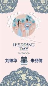 唯美优雅异域风婚礼邀请/文艺浪漫婚礼邀请短视频