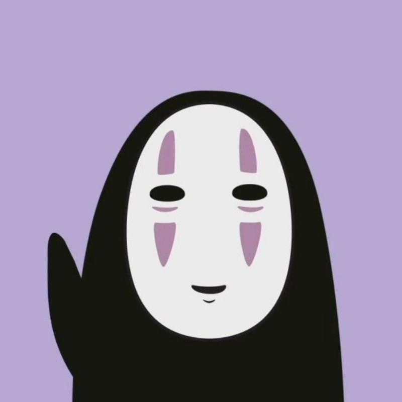 AI卡通手绘风无脸男游戏美术教育培训班微信头像