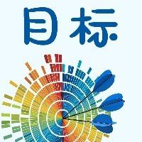 【内容次图】微信公众号封面小图简约卡通蓝色职场办公工作学习生活目标通用