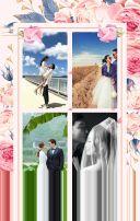 唯美浪漫风情侣周年纪念册宣传H5