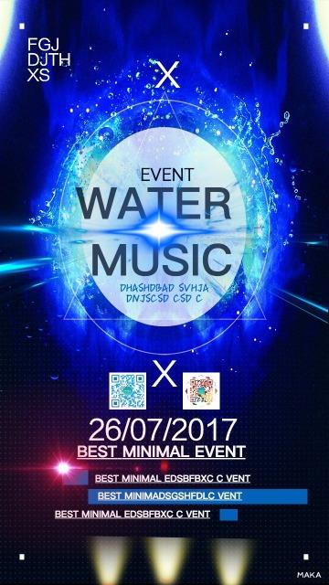 WATER 音乐会文娱演出表演晚会