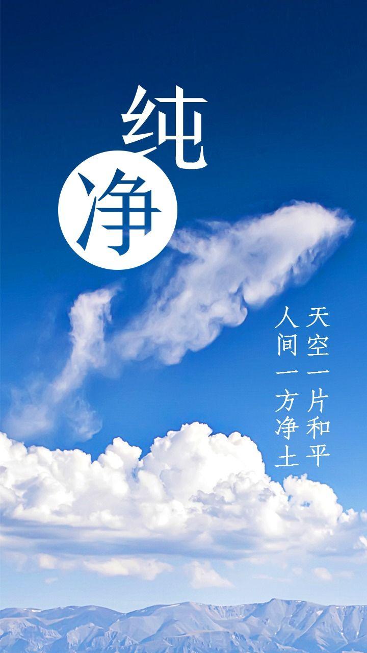纯净云之海豚日签海报配图