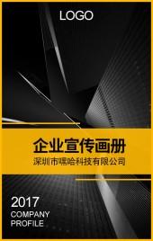 高端企业公司宣传简介 商务风企业电子画册 企业项目介绍