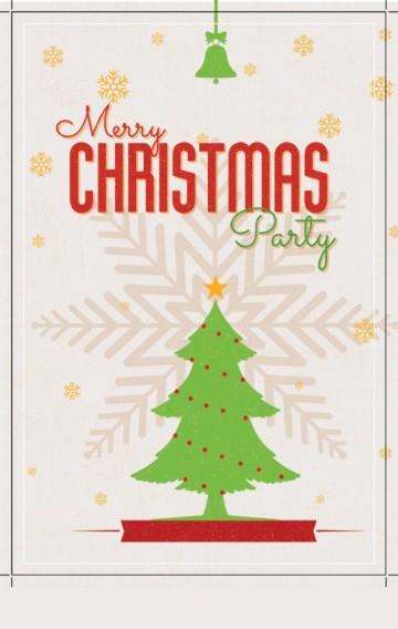 圣诞时装淘宝店促销单页