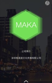 时尚高端大气简约黑绿电子商务商业企业产品宣传介绍推广画册