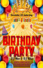 生日快乐、生日派对