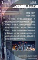 高端商务企业宣传公司团建相册员工风采相册H5