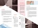时尚炫酷简约美容SPA宣传二折页