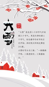 大雪 大雪习俗普及 二十四节气 大雪公司推广 大雪个人品牌推广