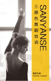 高端舞蹈培训学校芭蕾舞招生宣传画册