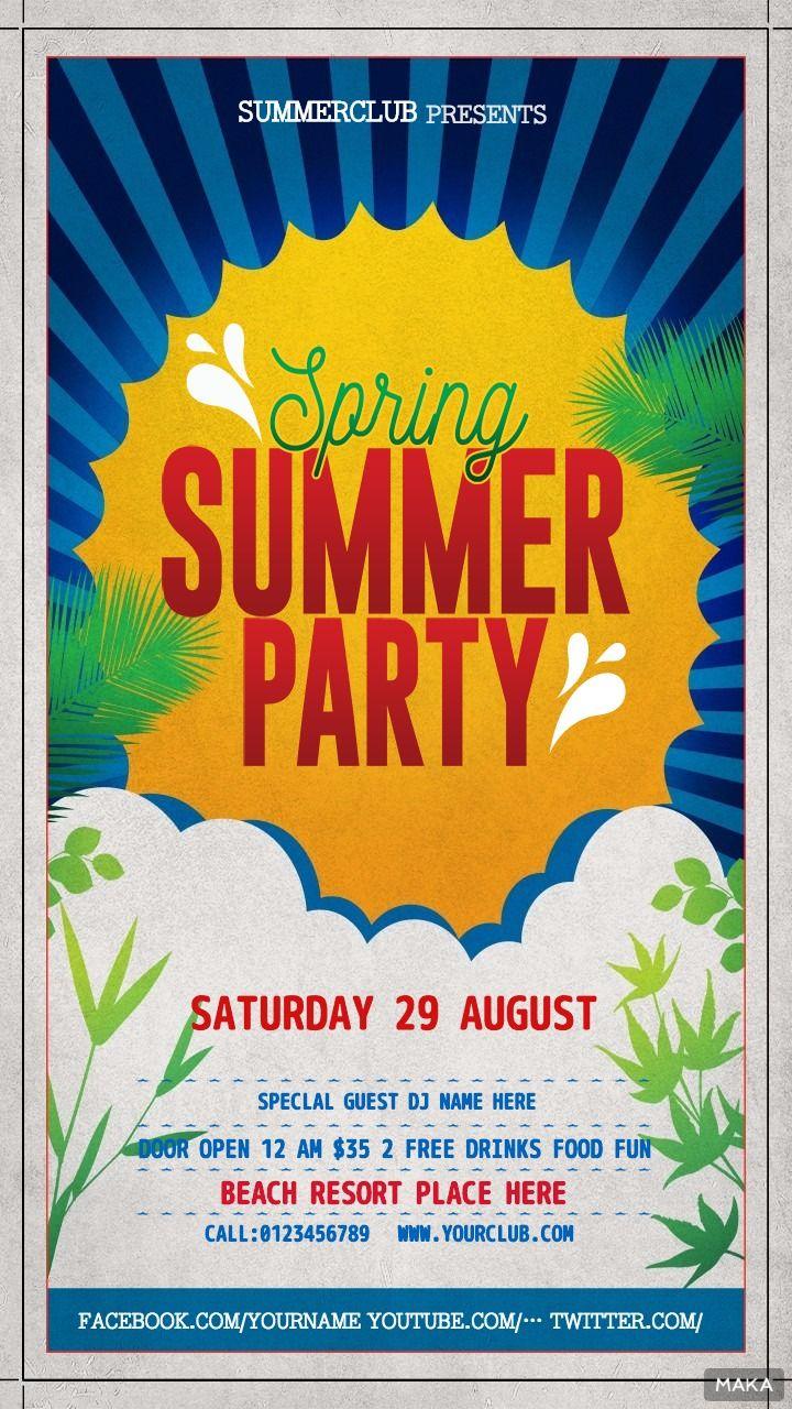 SUMMER PARTY JPRING