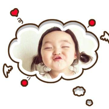 云朵气泡对话框社交头像