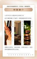 高端简约美容院美容机构宣传画册H5