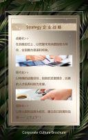 黑金森系企业宣传画册企业招商宣传画册H5