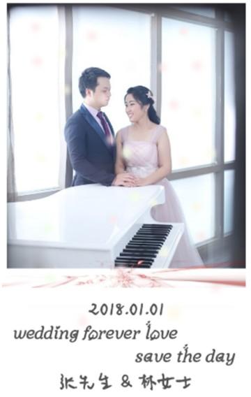 婚礼邀请函/极简/时尚/高端/浪漫/大气 结婚婚礼婚庆邀请函