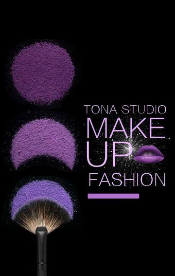 魅力紫美妆造型品牌推广宣传