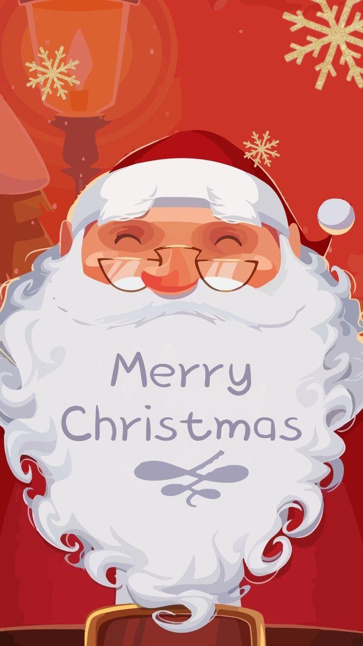 圣诞节平安夜圣诞快乐圣诞老人海报贺卡