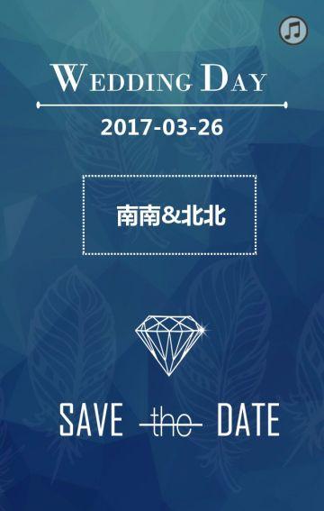 WEDDINGDAY婚礼邀请函