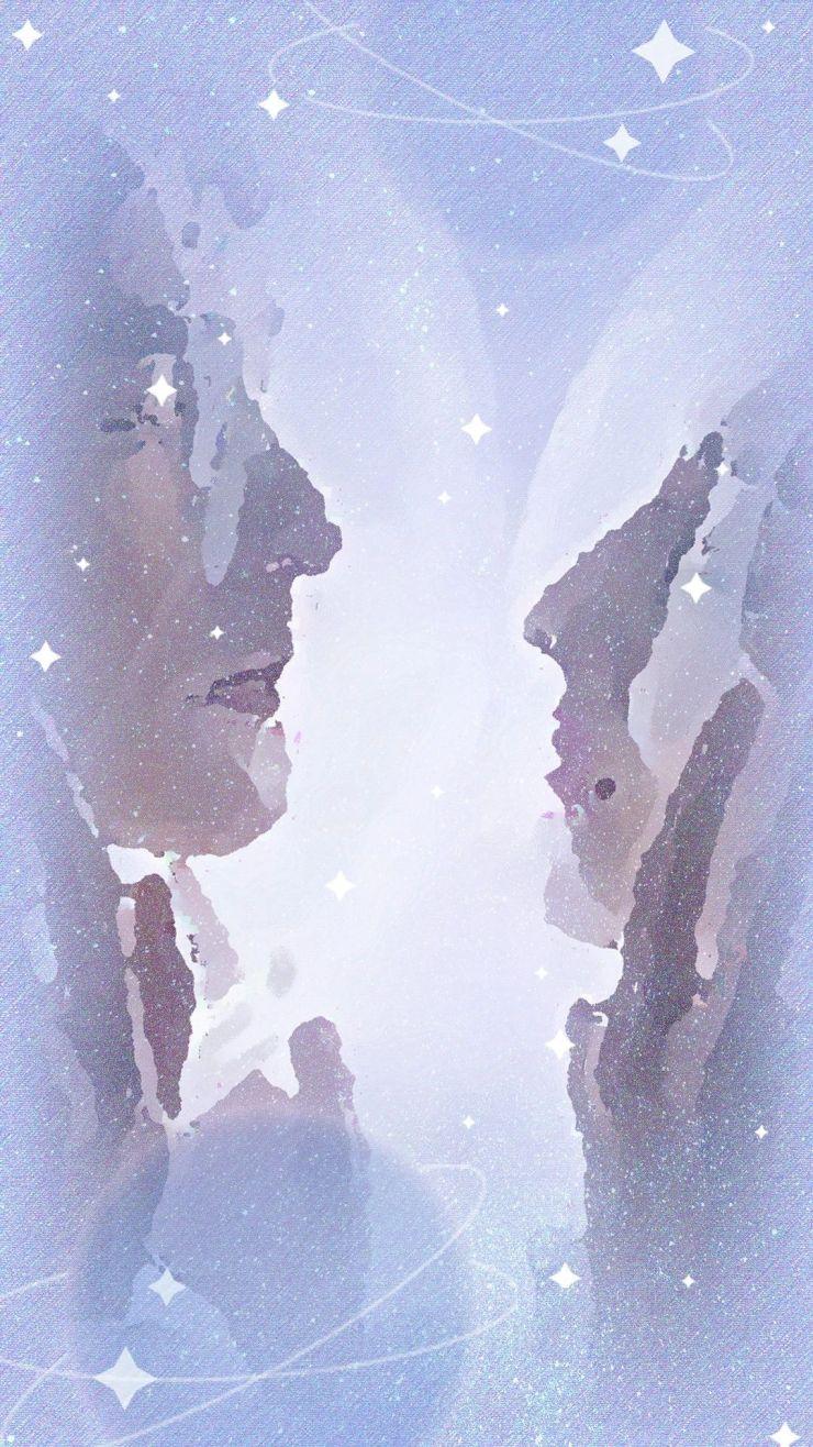 你是我的荣耀手机海报壁纸浪漫宇宙银河七夕可用