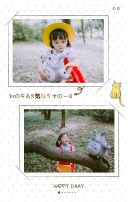 白色可爱宝宝相册H5