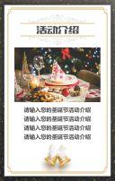 圣诞节企业活动产品促销产品宣传模板