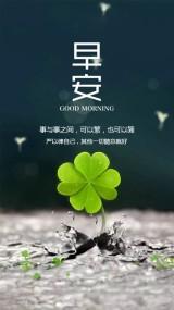 文艺清新早安日签早安祝福