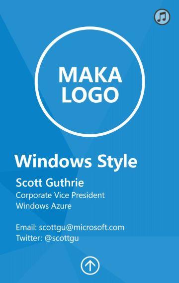Windows科技简约模板(企业介绍)