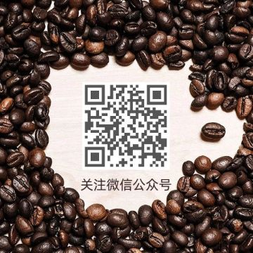 简约咖啡饮品促销折扣活动公众号二维码