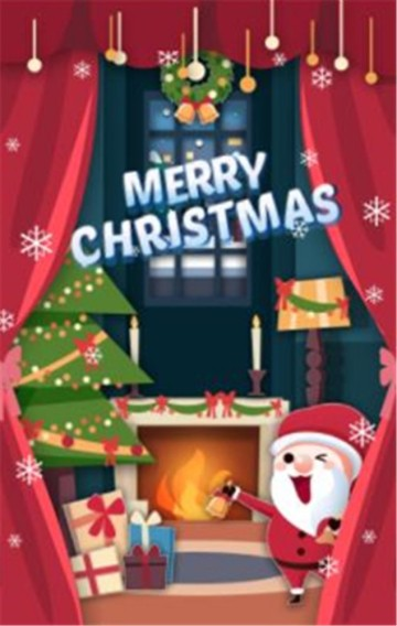 圣诞节大狂欢促销活动爆款商品宣传模板