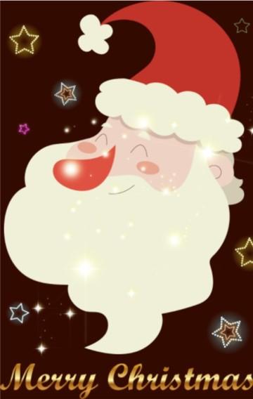圣诞节平安夜祝福贺卡问候企业宣传