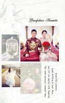 简单大气的婚礼邀请函,婚礼相册,时尚欧美。