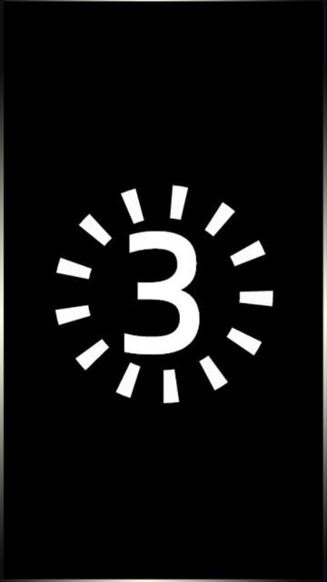 黑色倒计时简约大气适用于网络、拍摄、摄影等行业招聘视频模板