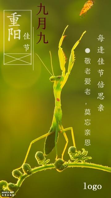 重阳节祝福海报