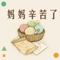 文艺简约感恩母亲节公众号次条