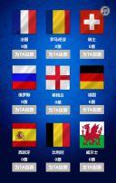 欧洲杯酒吧活动投票竞猜模板